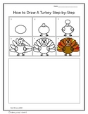 How-To Draw a Turkey Step-by-Step