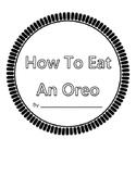 How To Eat An Oreo Writing Paper & Shape Book