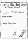 How To Eat Fried Worms Recipe Page