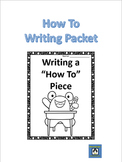 How-To Essay Packet - Stay organized!