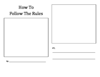 How To Follow The Rules student booklet