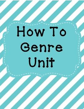 How To Genre Unit