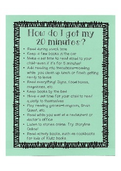 How To Get My 20 Minutes of Reading Each Day?
