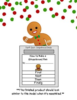 How-To Gingerbread Writing Flip-Book Craftivity