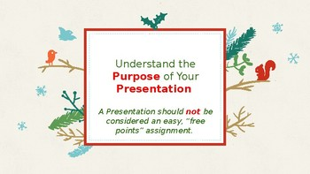 How To Give a Great Presentation