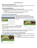 How To Google Classroom