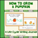 How To Grow A Pumpkin Writing Journal