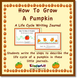 How To Grow A Pumpkin Writing Journal