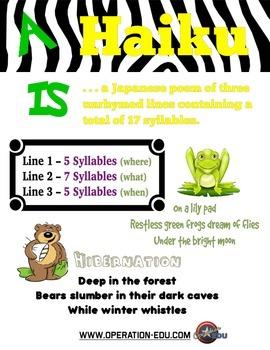 How-To Haiku Grades 4-8