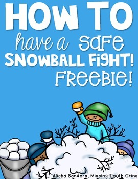 How To Have A Safe Snowball Fight