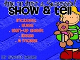 How To Host A Successful Show and Tell
