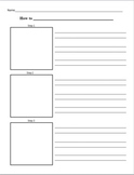 """How-To"" Informational Writing Template"