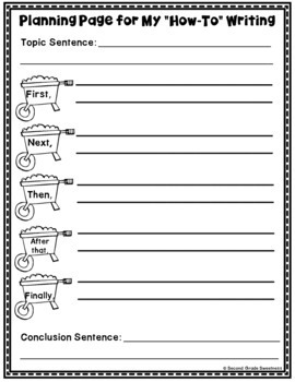 How-To Writing Unit
