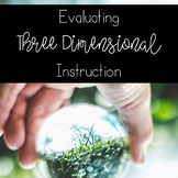 How To: Three Dimensional Learning (NGSS Planning Tool)