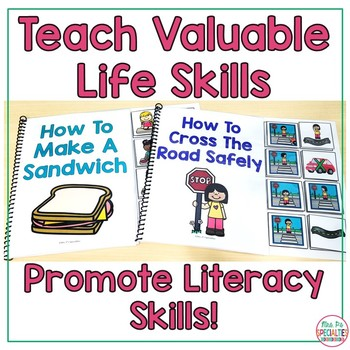 How To Life Skills Interactive Books (Special Education and Autism Resource)