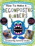 How To Make A Decomposing Numbers Monster!  PLUS Printables!  *FREE*