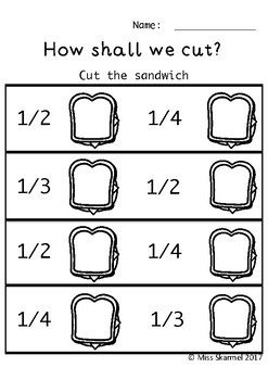 How To Make A Sandwich - Maths, Spelling and Fun Activities!