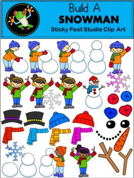 How To Make A Snowman Clip Art