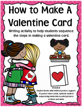 How To Make A Valentine Card ~ Writing