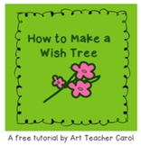 Free: How To Make A Wish Tree for Christmas
