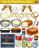 How To Make Bread Clipart