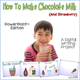 How To Make Chocolate Milk Writing PowerPoint™