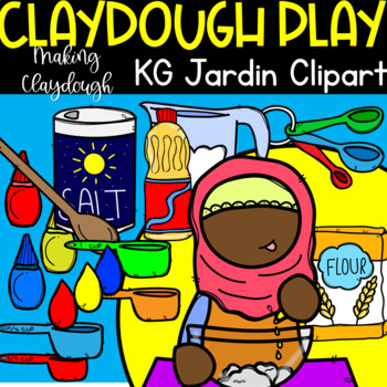 How To Make Clay Dough Sequencing Clipart (scribble clips)