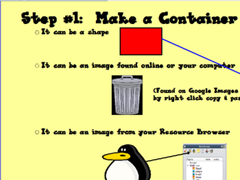 How To Make Containers in Your Flipcharts