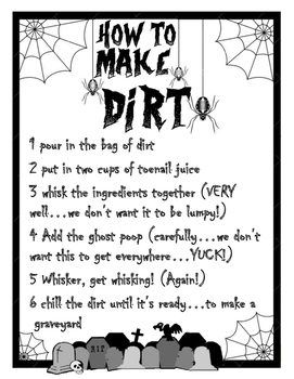 How To Make Dirt Snack