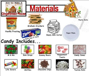 SMARTboard: How To Make Gingerbread Houses!