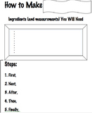 How To Make (Graphic Organizer)