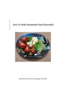 How To Make Homemade Fresh Mozzarella