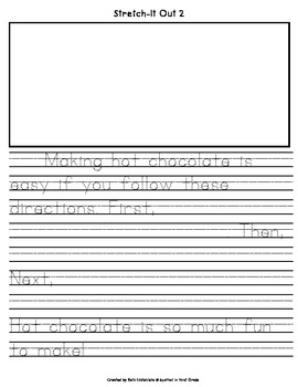 How To Make Hot Chocolate: A Differentiated How-To Writing Activity