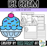 How To Make Ice Cream Writing