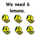 How To Make Lemonade Social Story and  Adapted Book (recipee, autism)