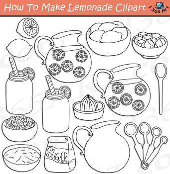 How To Make Lemonade Clipart