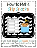 How To Make Ship Snacks: A Columbus Day Sequencing Writing Craftivity