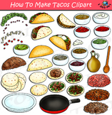 How To Make Tacos Clipart