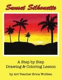 How To Make a Beautiful Palm Tree Sunset!