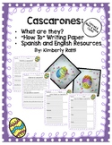 How To Make a Cascarón- Spanish & English Writing Paper