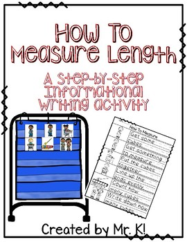 How To Measure Length - A Writing Activity