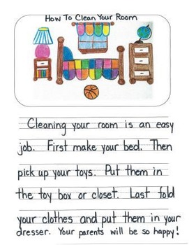 How To Mentor Texts Gr. 1: How To Blow A Bubble, Clean Your Room & Score A Goal