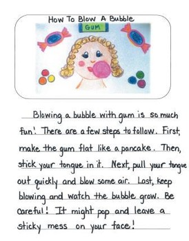 How To Mentor Texts Gr. 2: How To Blow A Bubble, Clean You