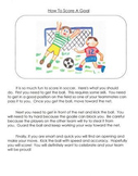 How To Mentor Texts Gr. 3: How To Blow A Bubble, Clean Your Room & Score A Goal
