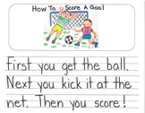 How To Mentor Texts Gr. K: How To Blow A Bubble, Clean Your Room & Score A Goal