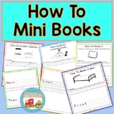 How To Writing Mini Books using First, Next, Then & Last-Procedural Writing