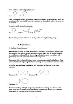 How To Name Organic Compounds - Chemistry (Study Aid / Handout)
