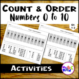 How To Order and Count Numbers 0 To 10 | Math Resource For Kids