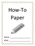 How-To Paper Outline
