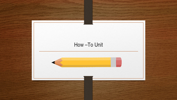 How-To Paper Presentation